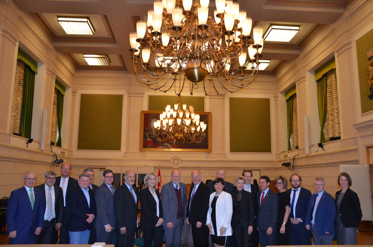 EFTA Parliamentary Committee meets with the Standing Committee on International Trade of the House of Commons in  Canada