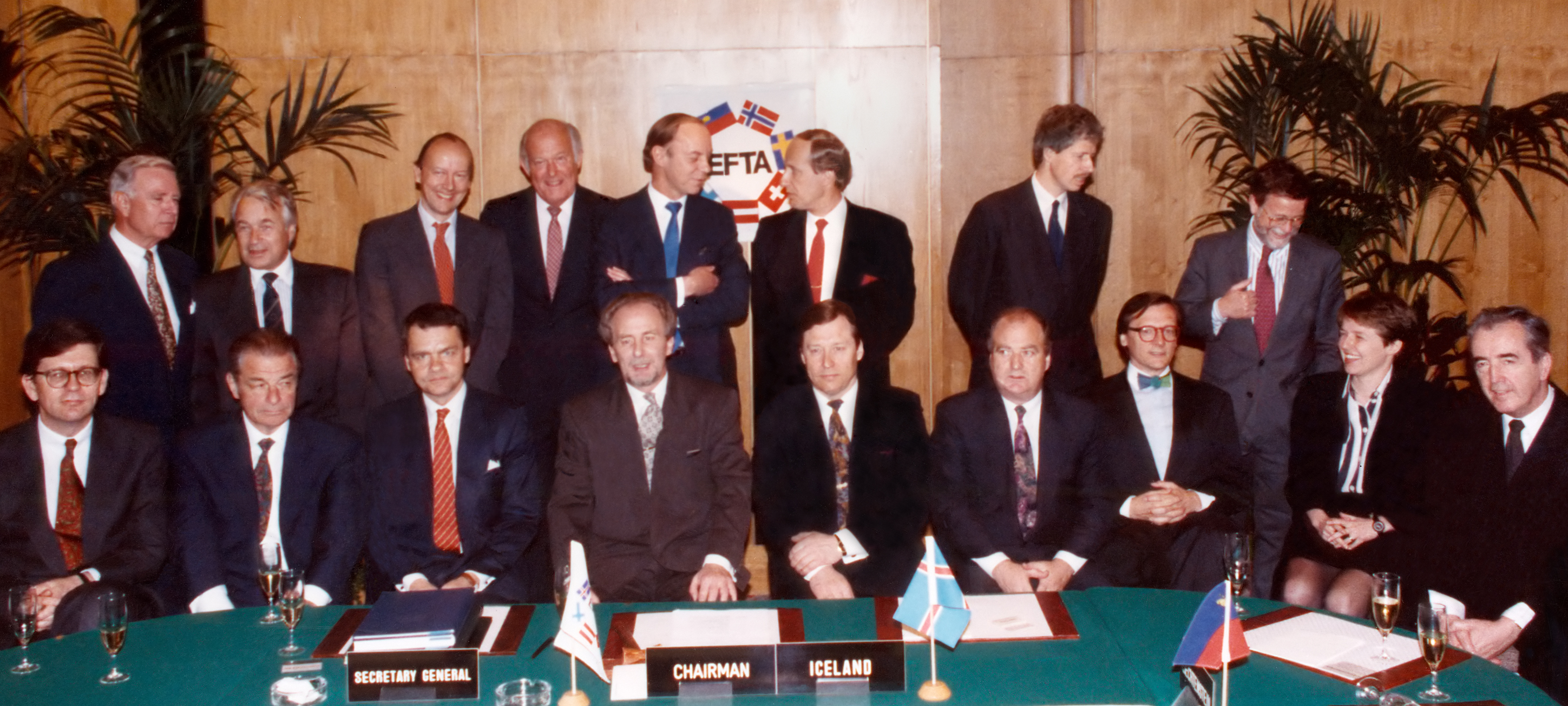 Efta Through The Years European Free Trade Association