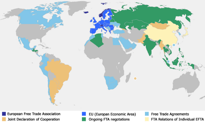 The Modernisation Of Eftas Free Trade Agreements European Free