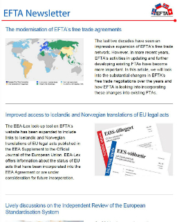 Want to stay up to date on EFTA, EEA and trade issues? Then subscribe to the EFTA Newsletter.