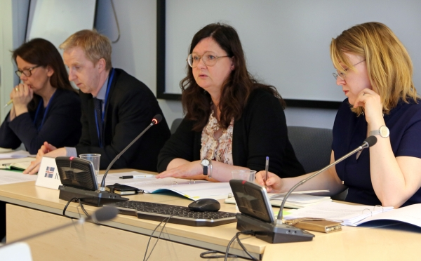 Icelandic Ambassador to the EU, Ms Bergdís Ellertsdóttir, briefed the EEA Joint Committee at its meeting on 17 March
