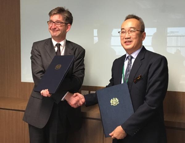 Ambassador Markus Schlagenhof, EFTA spokesperson, and Senior Director Khoo Boo Seng, Malaysia Spokesperson.