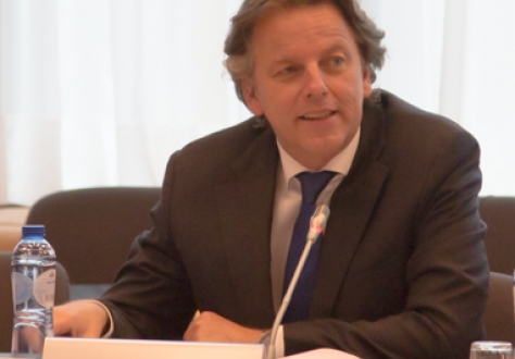 Mr Bert Koenders, Minister of Foreign Affairs of the Netherlands, representing the Presidency of the Council of the EU