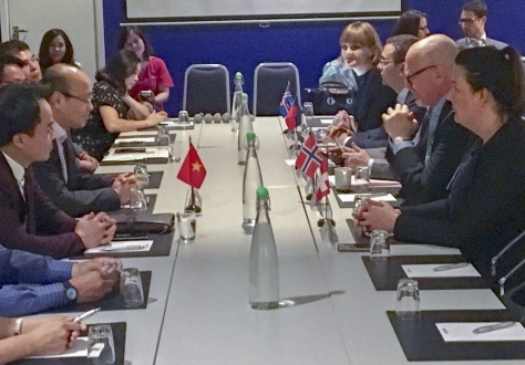 From 29 May to 1 June 2018, delegations from the EFTA States and Vietnam met in Oslo, Norway, for the 16th round of negotiations on a Free Trade Agreement.