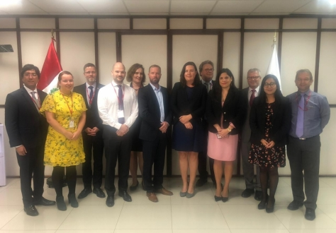 The Joint Committee established under the Free Trade Agreement between the EFTA States and Peru, 20 September 2019 in Lima.