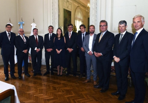 Delegations of the EFTA and Mercosur states as the negotiation round completed in Buenos Aires.