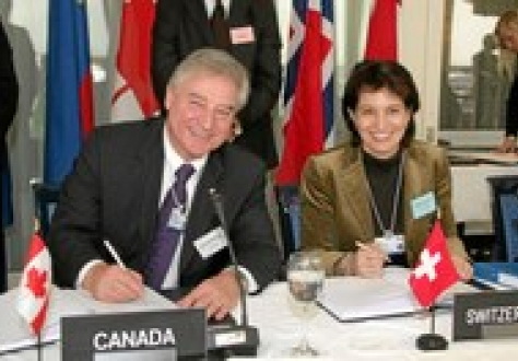 EFTA-Canada Free Trade Agreement will enter into force on 1 July 2009