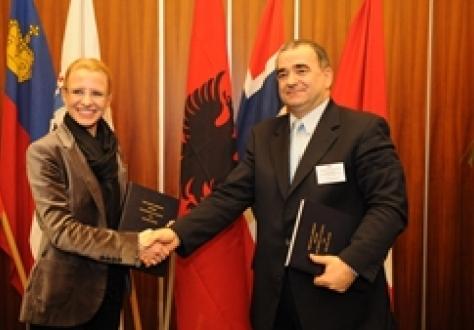 Ms Aurelia Frick, and Mr Sejdi Qerimaj.