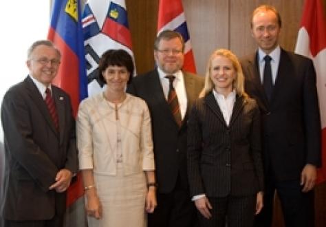 EFTA Ministerial meeting, Reykjavik, 24 June 2010