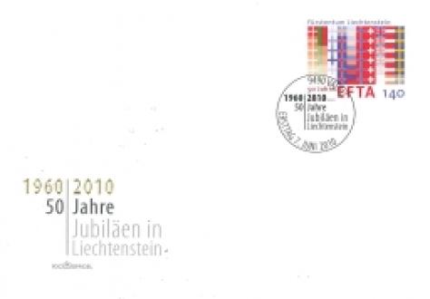 EFTA anniversary stamp