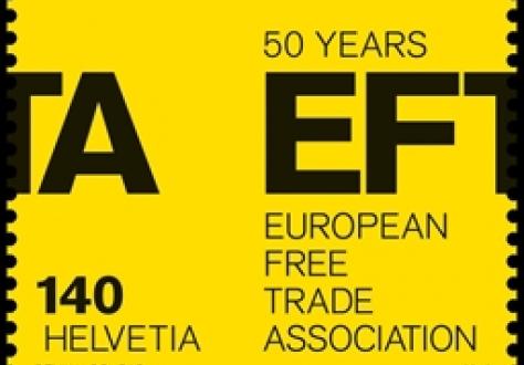 SwissPost EFTA stamp