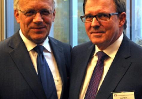 The Chair of the EFTA Council, Johann N. Schneider-Ammann, and the Chair of the EFTA Consultative Committee, Josef Beck