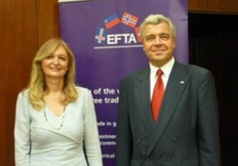 Ms Vesna Arsic, State Secretary, Ministry of Economy and Regional Development, Serbia, and Mr Erwin Hofer, Ambassador, Switzerland, highlighted the importance of increasing exports from Serbia to EFTA in their closing statements
