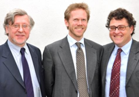 Professor Marc Maresceau, University of Ghent. Professor Fredrik Sejersted, University of Oslo, and Professor René Schwok, University of Geneva.