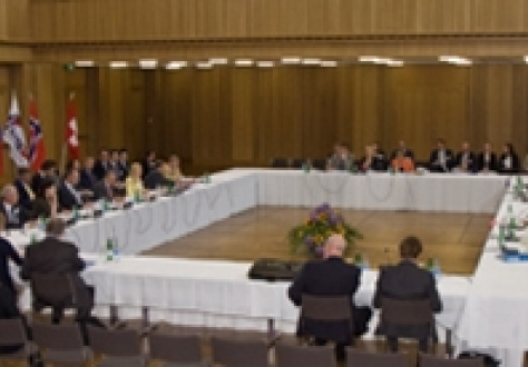 EFTA Ministerial meeting, Schaan, Liechtenstein, 21 June 2011