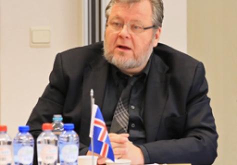Icelandic Minister for Foreign Affairs and External Trade - Össur Skarphéðinsson