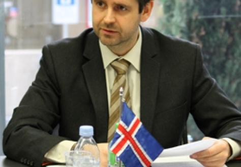 Ambassador Martin Eyjólfsson of Iceland.