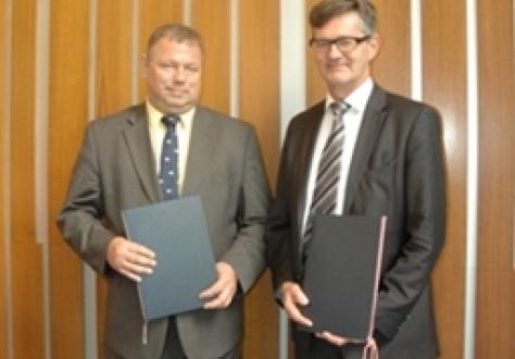 RuBeKa Spokesperson Mr Maxim Medvedkov and EFTA Spokesperson Mr Jan Farberg.