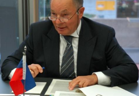 Ambassador Norbert Frick from Liechtenstein, Chair of the EFTA Council