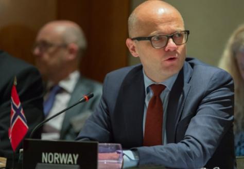 Mr Vidar Helgesen (Chair), Minister of EEA and EU Affairs of Norway