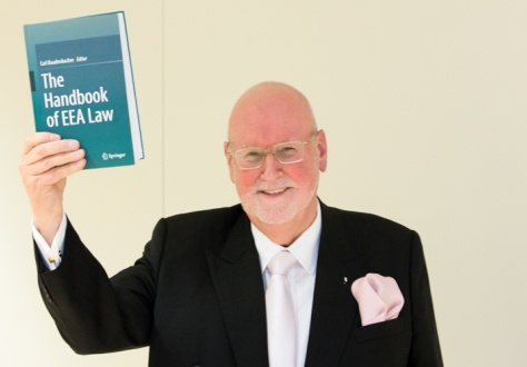 Carl Baudenbacher, President of the EFTA Court and the editor of The Handbook of EEA Law
