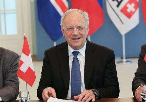 Federal councillor, Johann Schneider-Ammann