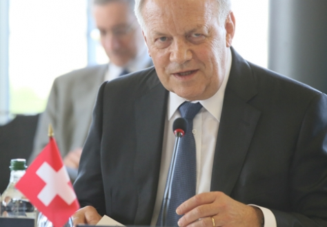 Mr Johann N. Schneider-Ammann (EFTA Chair), President of the Swiss Confederation and Federal Councillor, Head of the Federal Department of Economic Affairs, Education and Research