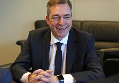 Frank Bakke Jensen, Minister of EEA and EU Affairs.