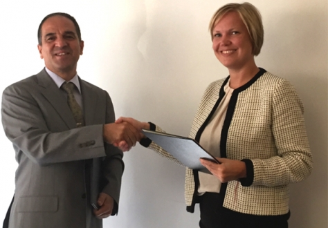 Mr Murat Yapici, Director-General for EU Affairs, Turkey, and Ms Cecilie Børnes Utgård, EFTA Spokesperson and Senior Adviser in the Norwegian Ministry of Trade, Industry and Fisheries.