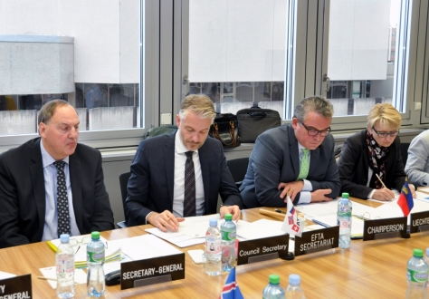 Preparations for the upcoming EFTA Ministerial meeting was on the agenda at the eight meeting of the EFTA Council.
