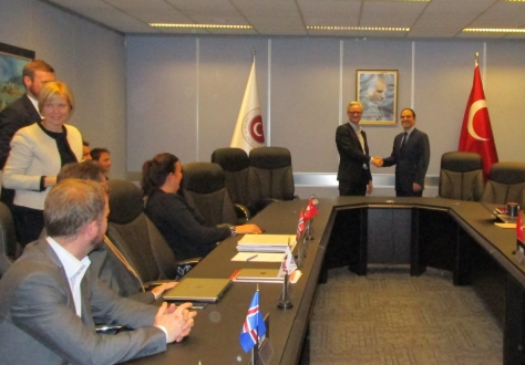 Erik Andreas Underland, Chief Negotiator from the Norwegian Ministry of Trade, Industry and Fisheries, was the EFTA Spokesperson, while Murat Yapici, Director-General for EU Affairs at the Turkish Ministry of Economy led the Turkish delegation.