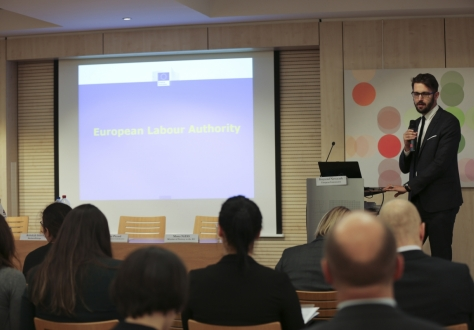 Mr Krzysztof Nowaczek from DG Employment outlined the main features of the European Labour Authority.