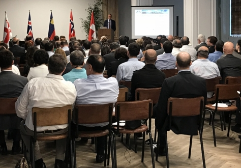 The seminar was well attended, with over 160 participants.