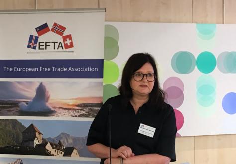 Icelandic Ambassador to the EU Bergdís Ellertsdóttir