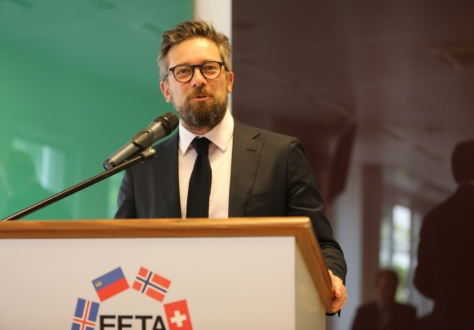 Andri Lúthersson, Deputy Secretary-General, talked about Brexit implications for EEA and the EFTA States.