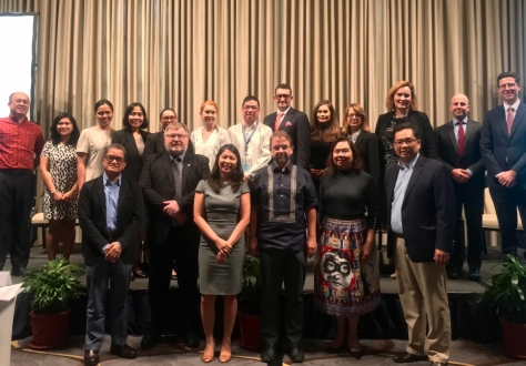 EFTA delegates and representatives from the Philippines at the trade promotion seminar in Manila