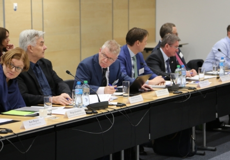 The meeting with Ministers in Geneva was chaired by Halldór Árnason from the Confederation of Icelandic Employers.