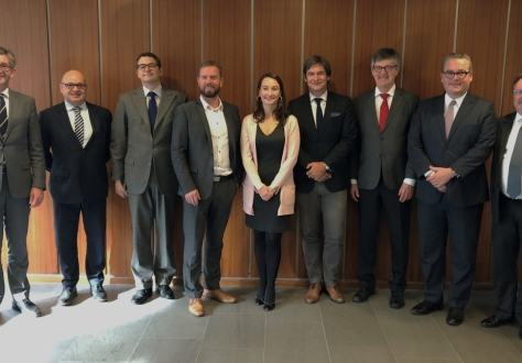 Delegations of the EFTA and Mercosur states as the negotiation round completed in Geneva.