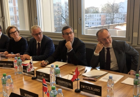 The EFTA Council met in Geneva for its ninth meeting of the year.