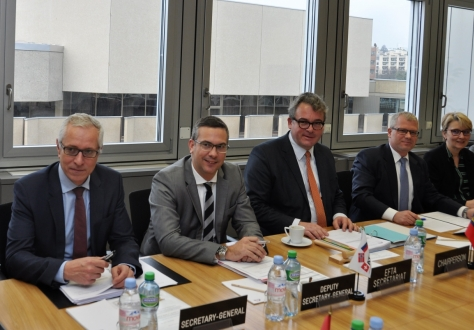 The EFTA Council met in Geneva under Liechtenstein Chairmanship.