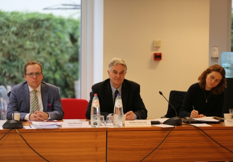 The joint meeting was chaired by Halldór Grönvold