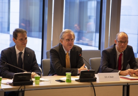 The EEA Joint Committee was chaired on the EU side by Mr Claude Maerten