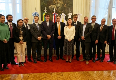 Delegations of EFTA and Mercosur in Buenos Aires on 23 August 2019.