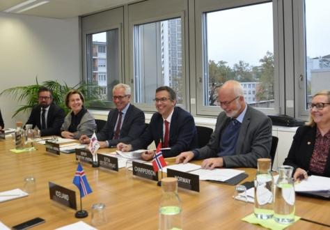 The EFTA Council met in EFTA headquarters in Geneva.