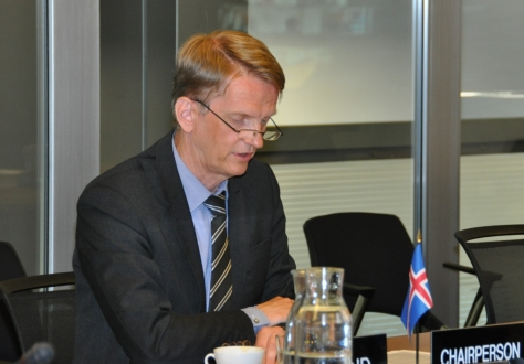 Harald Aspelund, EFTA Council Chairperson, Iceland