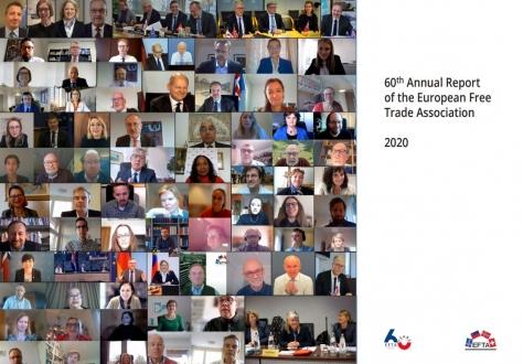 EFTA 60th Annual Report cover
