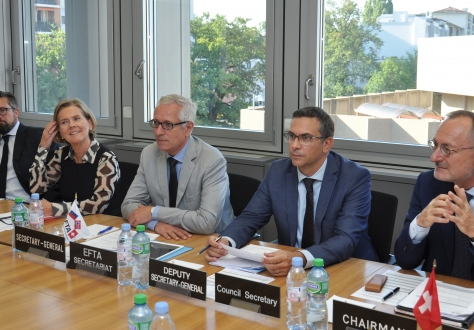 The EFTA Council met in Geneva under Swiss Chairmanship