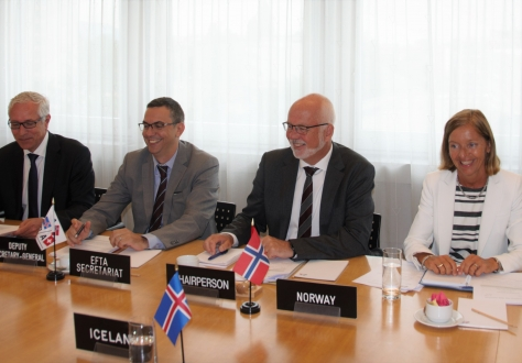 The EFTA Council met in Geneva under Norwegian Chairmanship on 11 July 2019