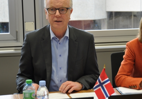The meeting was chaired by Norwegian Ambassador Harald Neple.