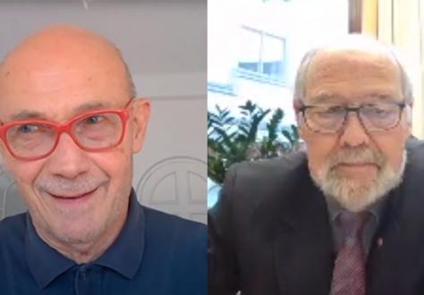 Pascal Lamy and Svein Roald Hansen